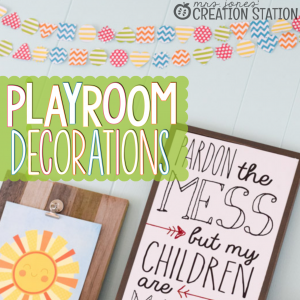 Homeschool Classroom Decorations…DIY Banner