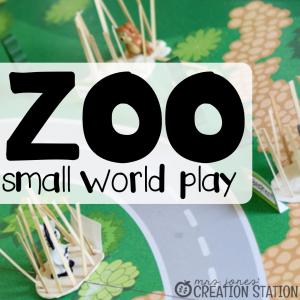 Zoo Small World Imaginative Play