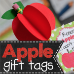 FREE Back to School Apple Gift Tags