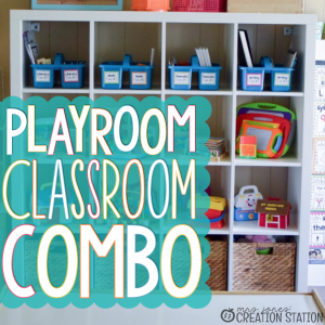 Playroom and Homeschool Classroom Tour