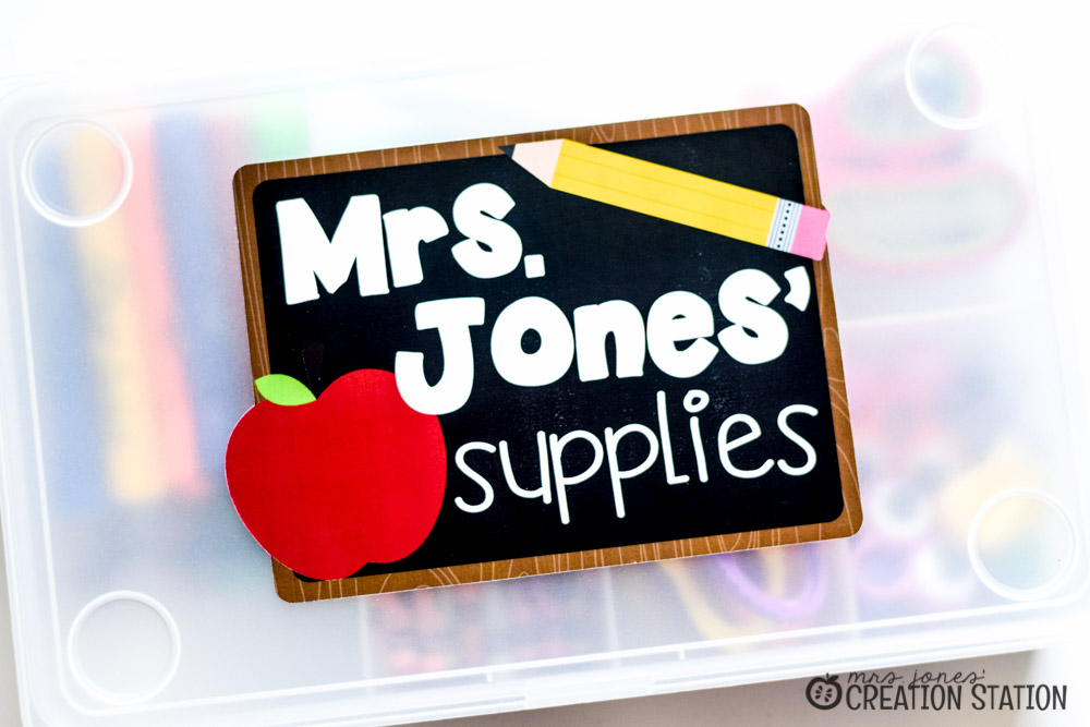 Is perfect for my teaching supplies i have switched these supplies