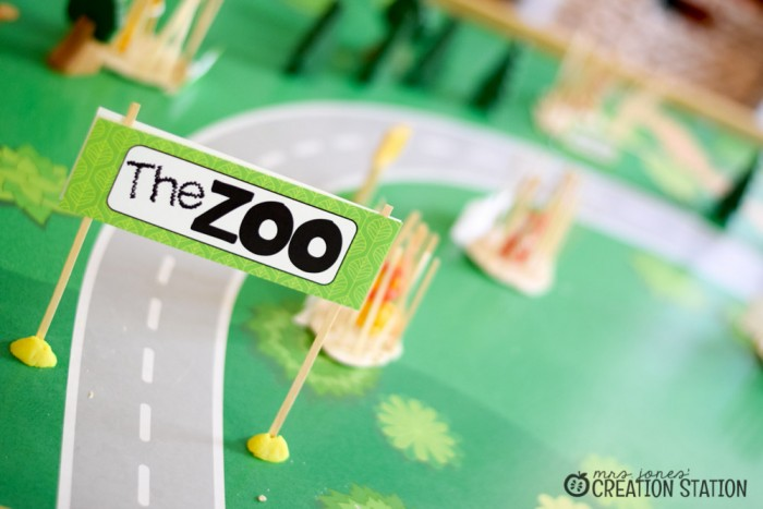 Zoo Small World Imaginative Play
