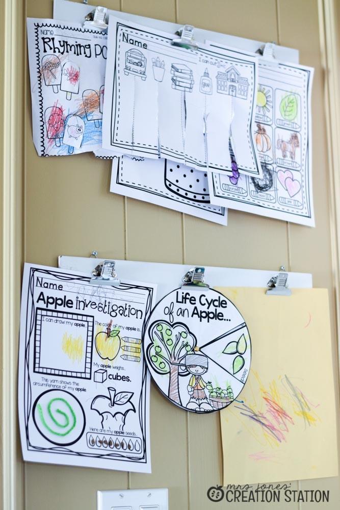 Playroom Homeschool Classroom Combination