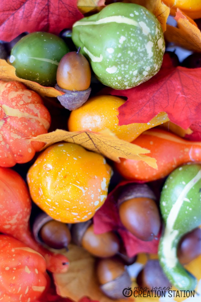 Fall Sensory Bin for Little Learners