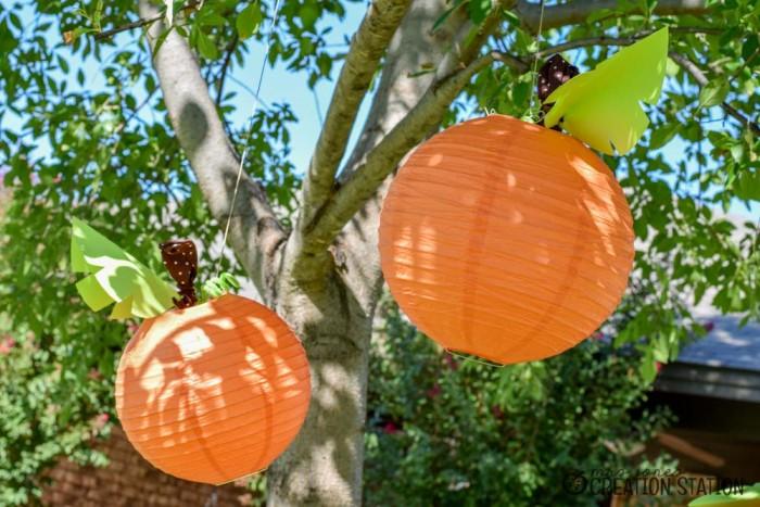 DIY Pumpkin Lanterns