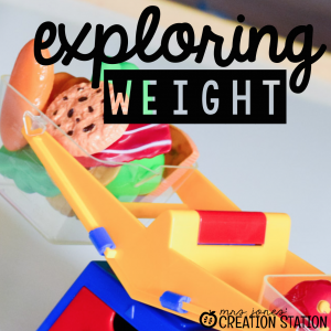 Exploring Weight with Little Learners