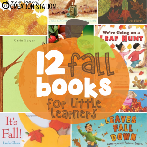 12 Fall Books for Little Learners