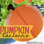 DIY Pumpkin Lanterns