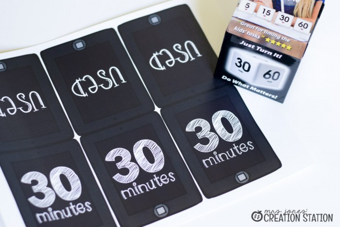 FREE Tech Time Cards