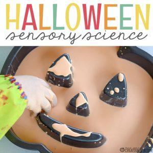 Halloween Sensory Science Investigation