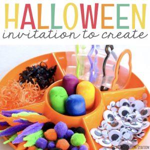 Halloween Art Creation