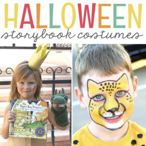 Halloween Costumes for Little Readers