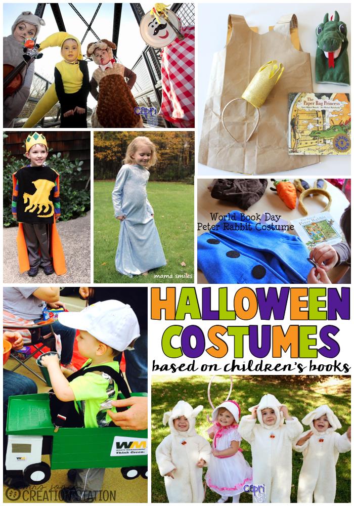 Halloween Costumes based on Children's Books
