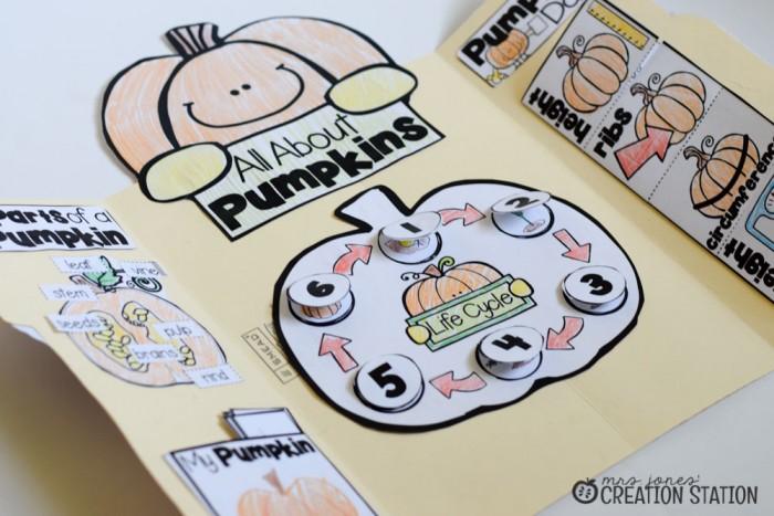 Pumpkin Science Lapbook - MJCS-18