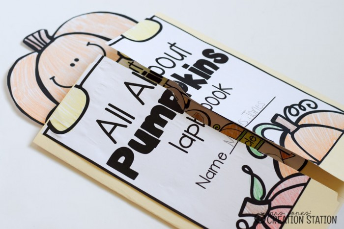Pumpkin Science Lapbook - MJCS