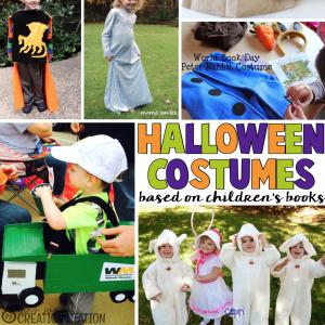 Halloween Costumes based on books