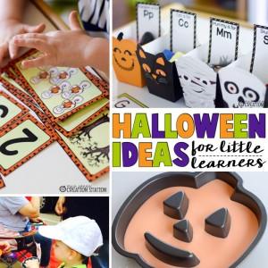 Halloween Ideas for Little Learners