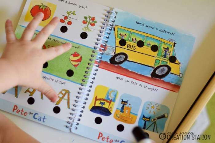 Hot Dots are a self-checking engaging tool to little learners.
