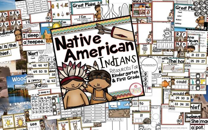 Native American Indians Unit - MJCS
