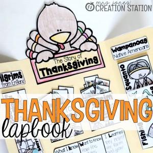 Thanksgiving Lapbook - MJCS