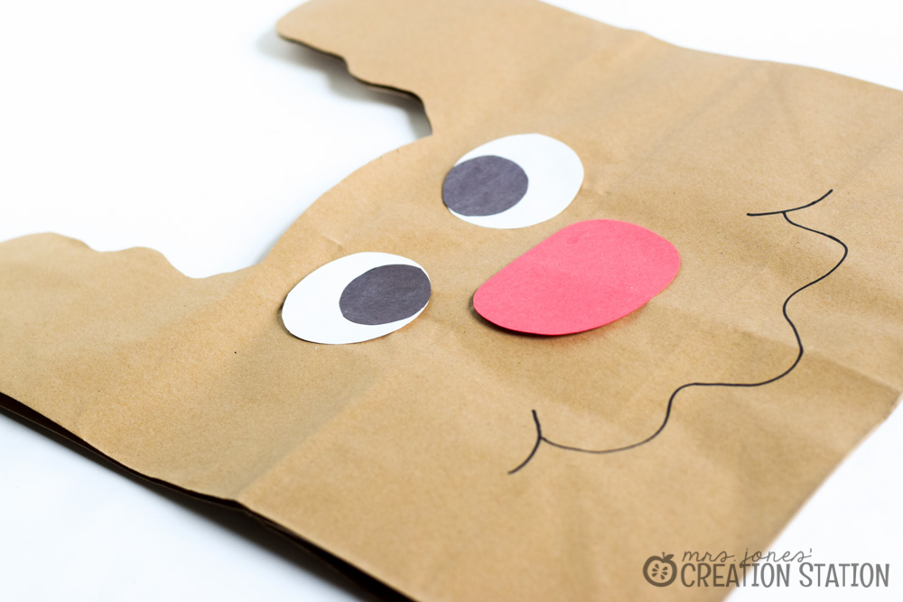 Reindeer Bag For Christmas Crafts Mrs Jones Creation Station