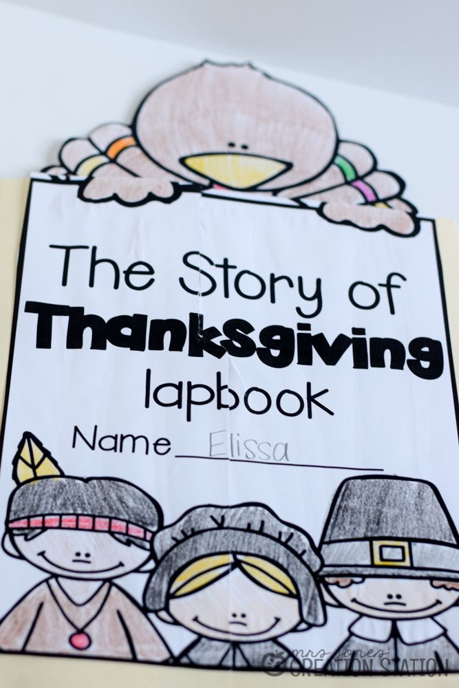 Thanksgiving Lapbook - MJCS