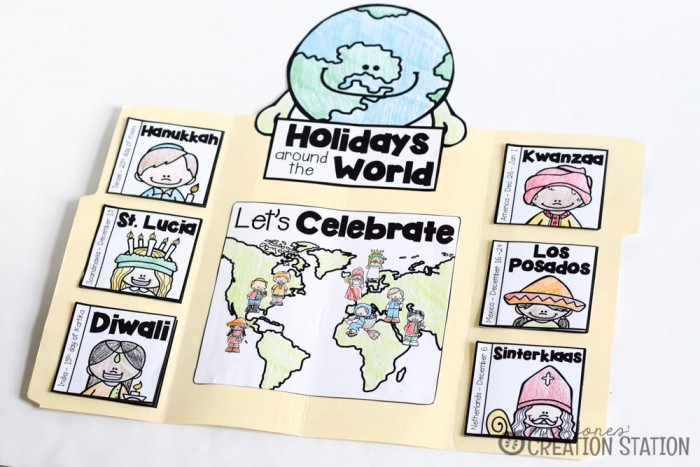 Holidays Around the World Lapbook -MJCS