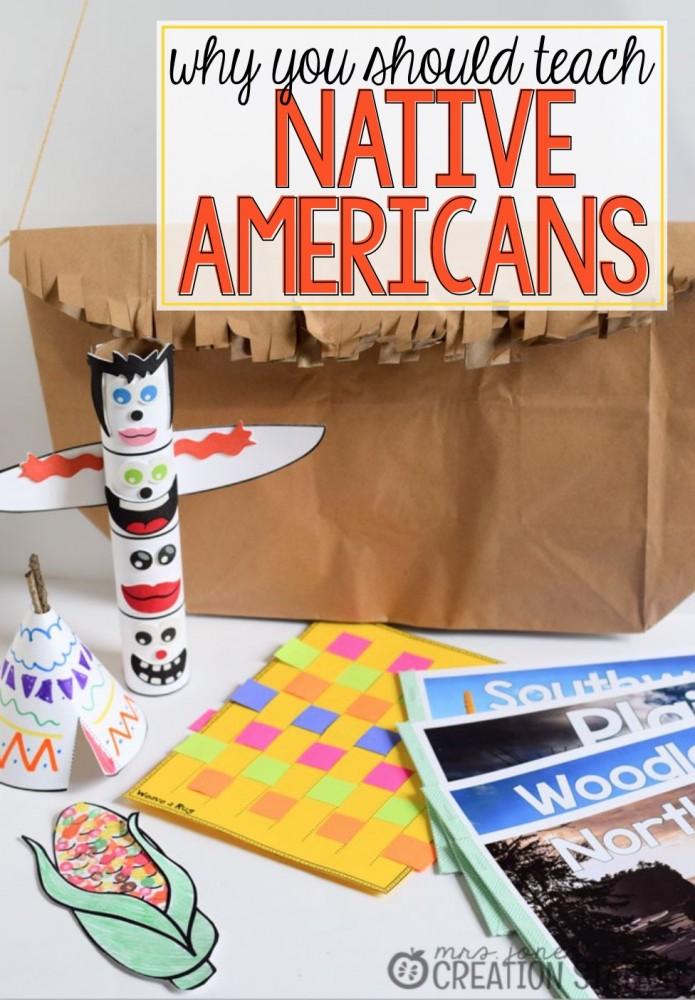 Native Americans Pin
