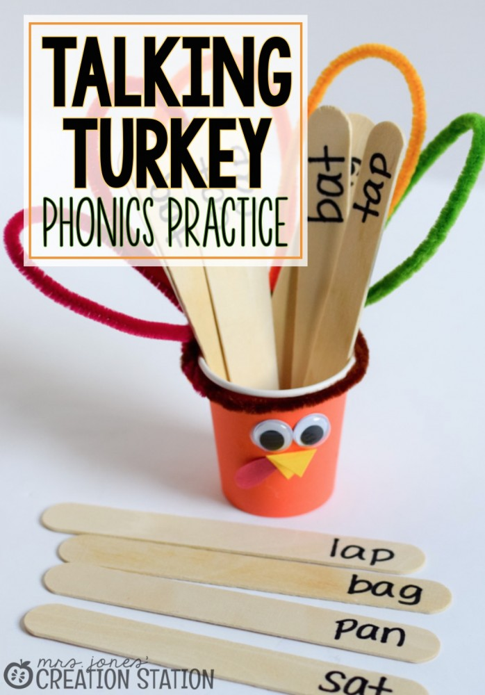 Talking Turkey - Fun Phonics Mini-Lesson - MJCS