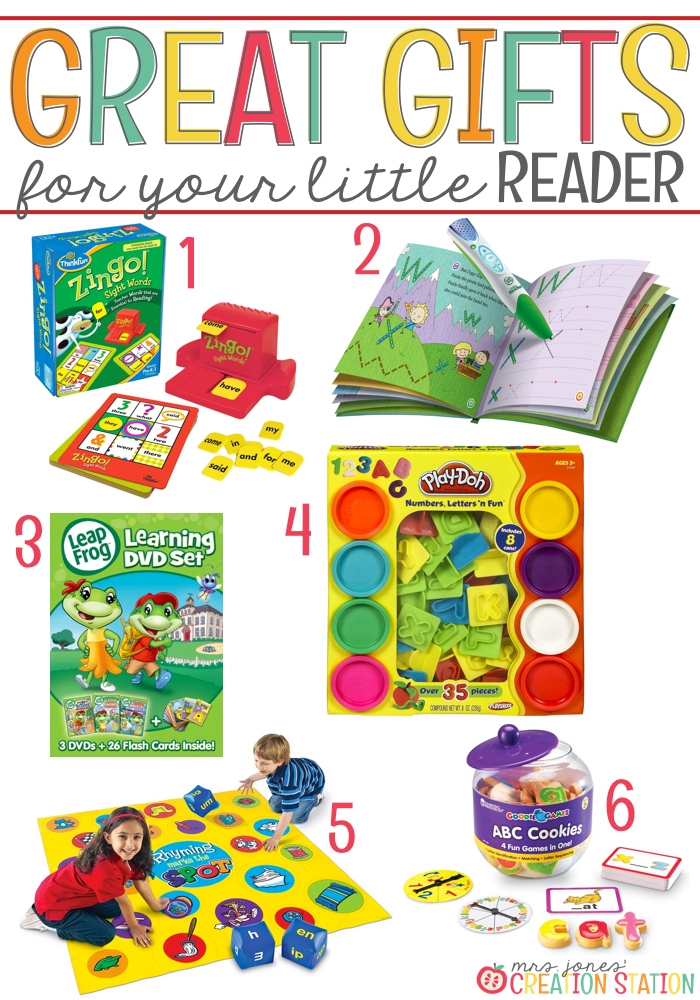 Reading Gift Ideas for Little Learners