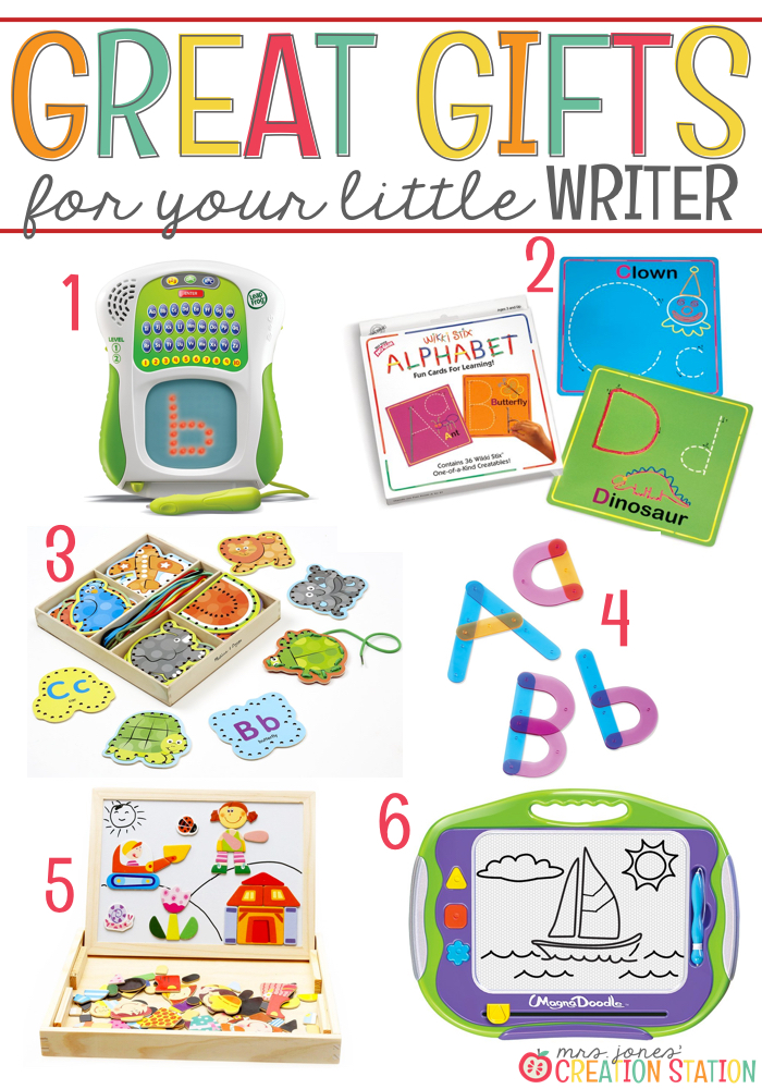 Writing Gift Ideas for Little Learners