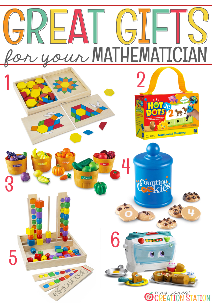 Math Gift Ideas for Little Learners