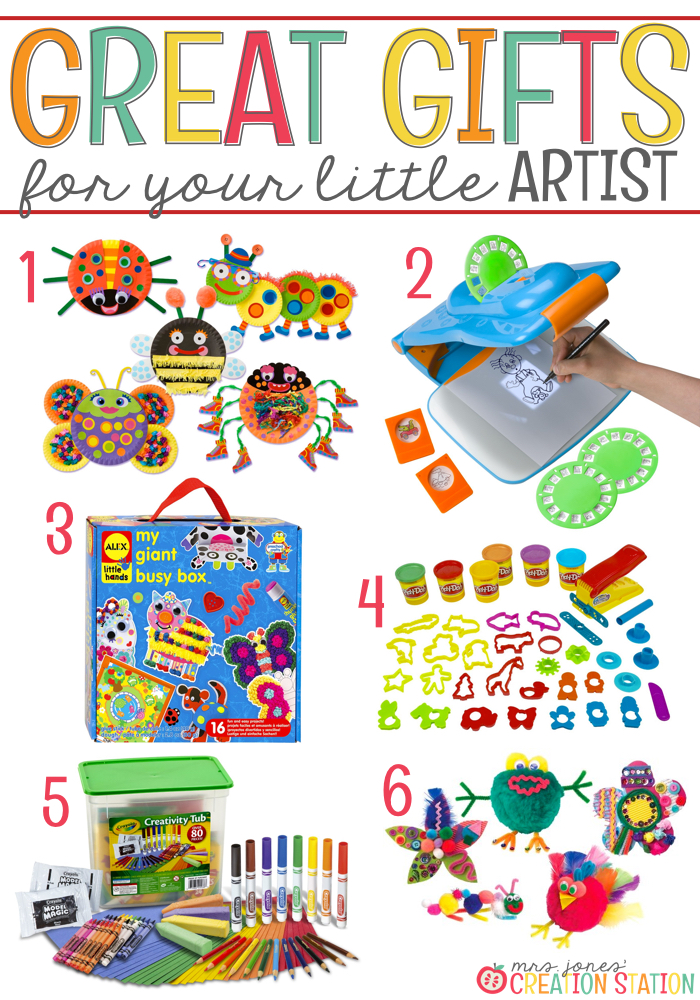 Art Gift Ideas for Little Learners