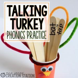 Talking Turkey - Fun Phonics Mini-Lesson - MJCS