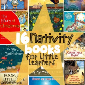 Nativity Books for Little Learners