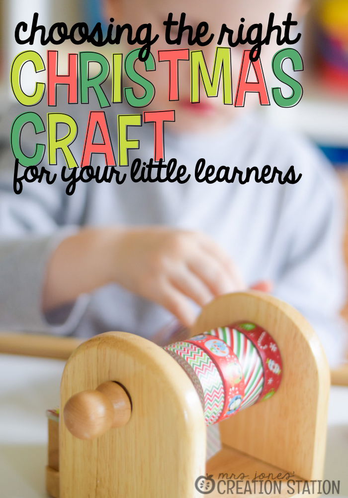 Choosing the Right Christmas Craft for Your Little Learners - MJCS