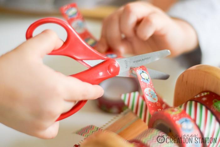 Christmas Craft Washi-Tape Ornament12