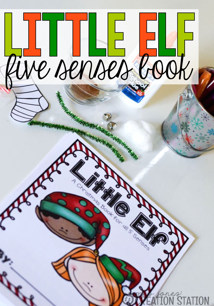 Little Elf Five Senses Christmas Book - MJCS