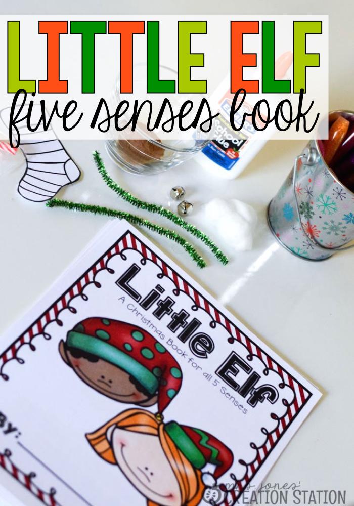 Little Elf Five Senses Christmas Book - MJCS