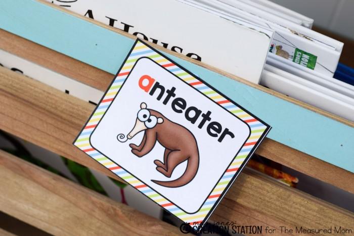 My preschooler loves this ABC flip book!