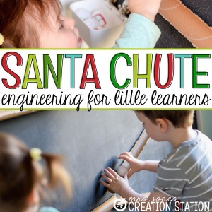Santa Chute - Christmas STEM Activity - MJCS