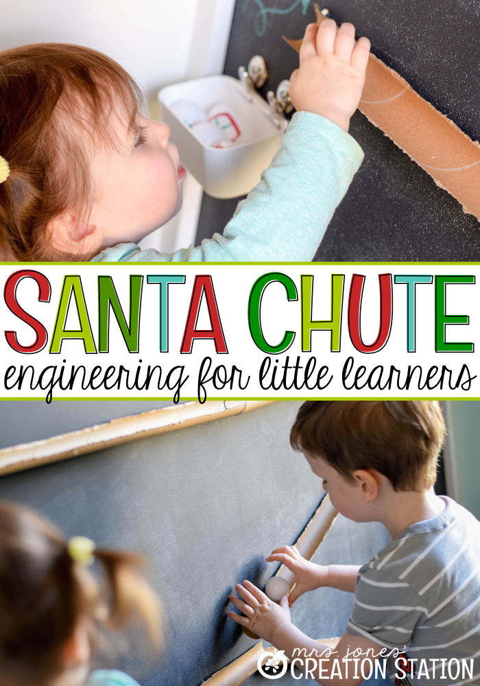 Santa Chute - STEM Engineering for Little Learners MJCS