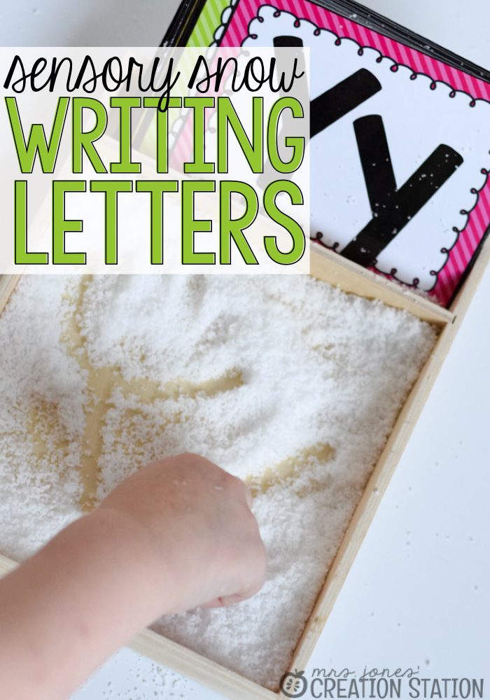 Letter Writing in the Snow - Mrs. Jones' Creation Station