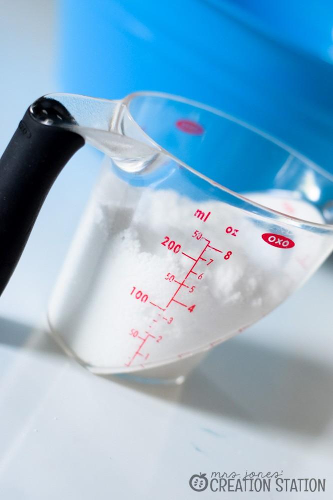 Simple Science Activity   Making Snow - Mrs. Jones' Creation Station