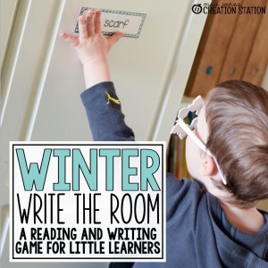 Write the Room Reading Game