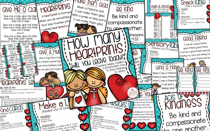 Heartprints and Acts of Kindness for Little Learners - MJCS-11