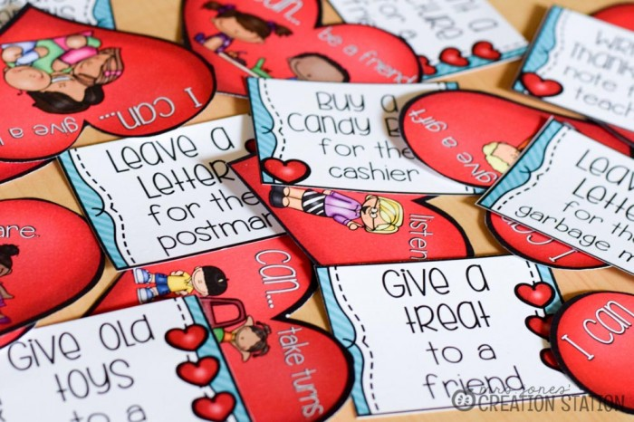 Heartprints and Acts of Kindness for Little Learners - Mrs. Jones Creation Station