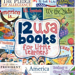 USA Books for Little Learners