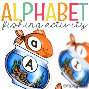 Alphabet Activity for Lowercase and Capital Letters