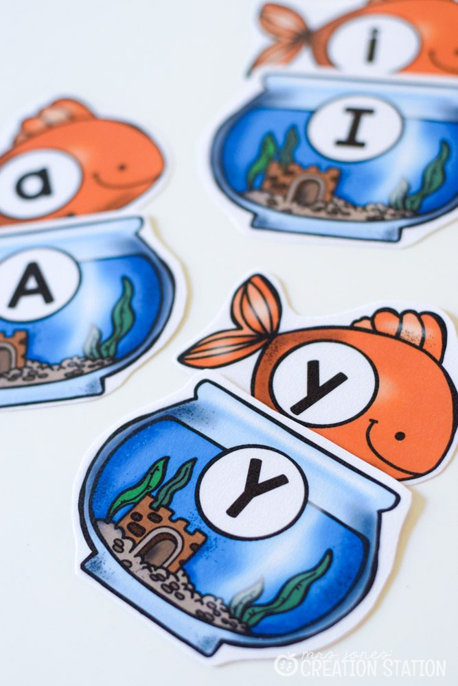 Fishing for the Alphabet Game